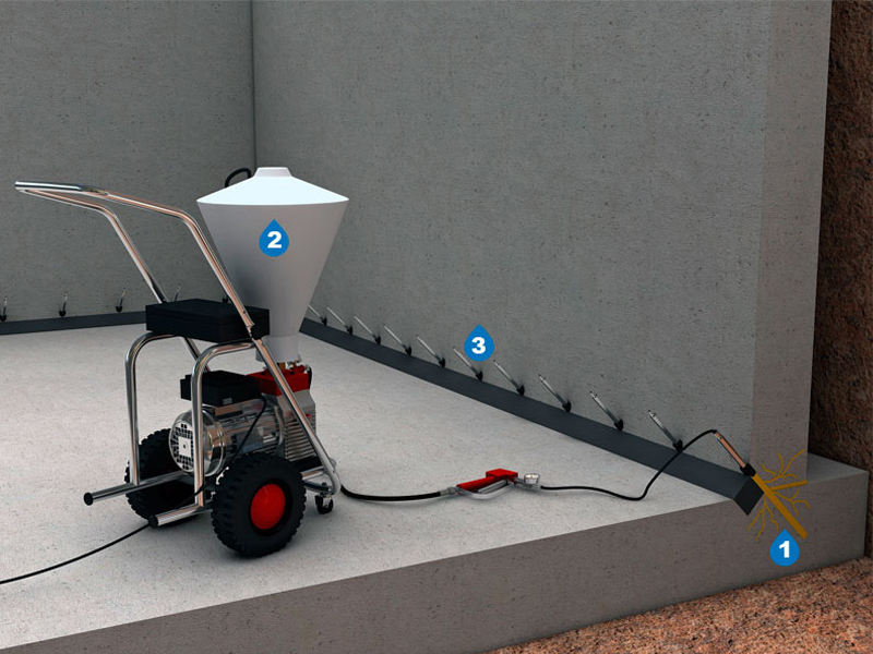 Машина для герметизации шва